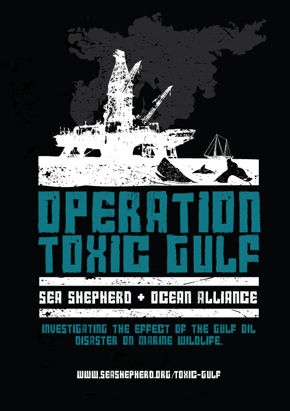 Operation Toxic Gulf 2014 Crew Shirt Design