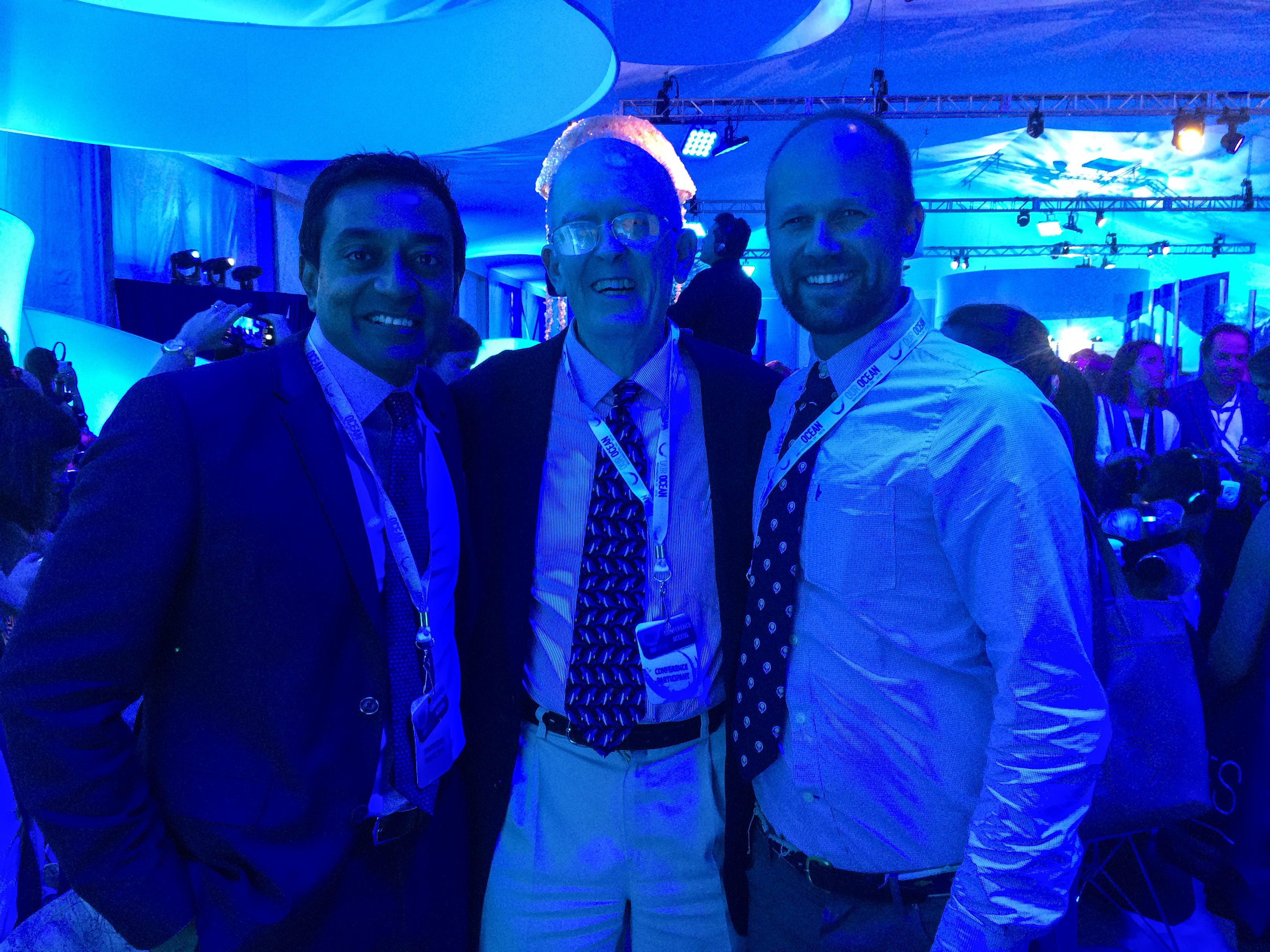 M. Sanjayan (Conservation International), Roger Payne, Andy Rogan